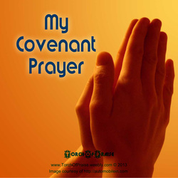My Covenant Prayer